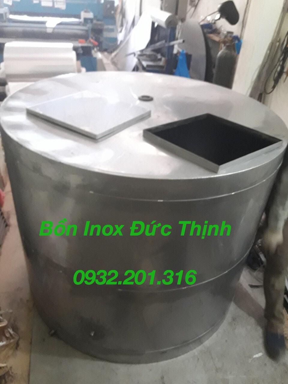 Sản xuất bồn bể nước inox tại Đức Thịnh