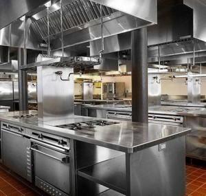 Thiết bị bếp công nghiệp inox dành cho nhà hàng